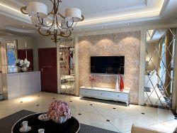 小戶型客廳地中海風格地板裝修設計