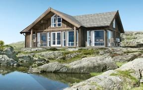 農村別墅房子圖 山地別墅設計