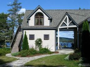 農村別墅房子圖 閣樓天窗