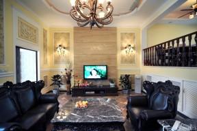 小戶型客廳裝修設計 錯層戶型