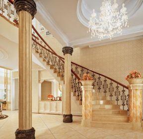 別墅室內室內樓梯設計效果圖-每日推薦
