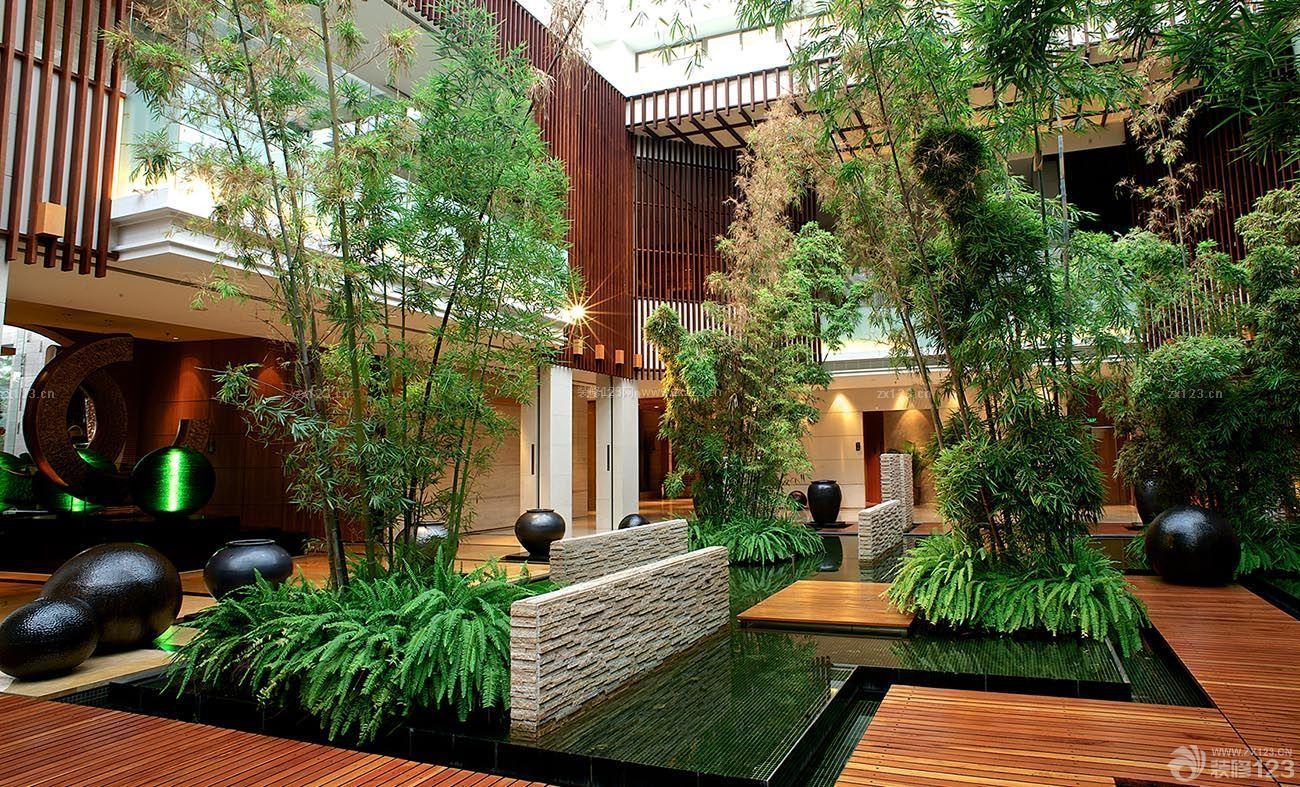 欧式别墅庭院设计_欧式别墅花园庭院设计图片_装修123效果图