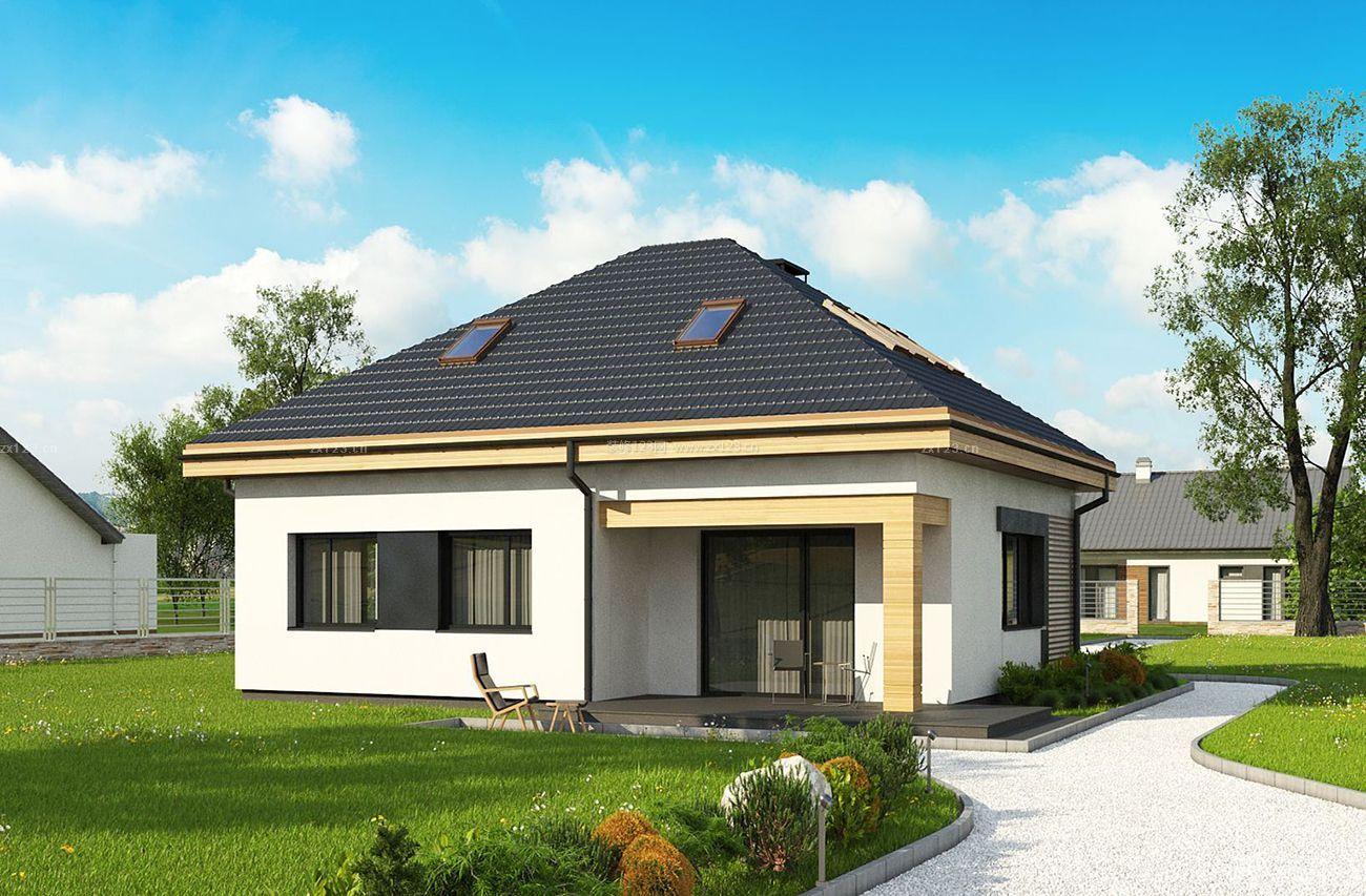 小型独栋别墅外观设计图片