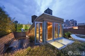 屋頂花園 房屋設計圖