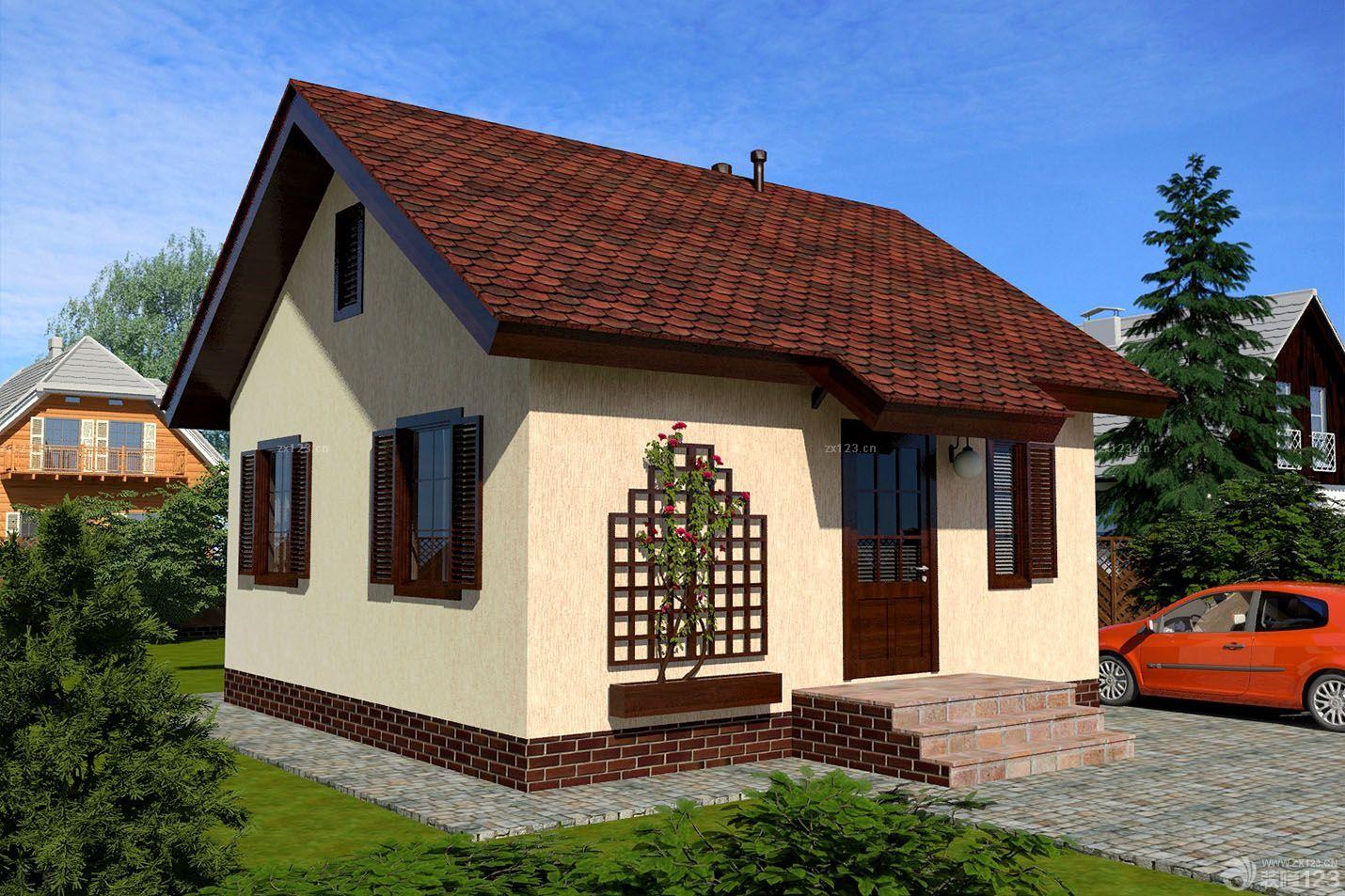 农村简易花园别墅设计装修图片