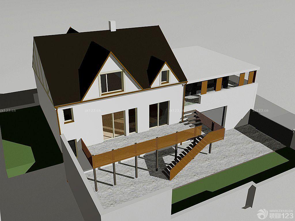 农村小型木制别墅设计图