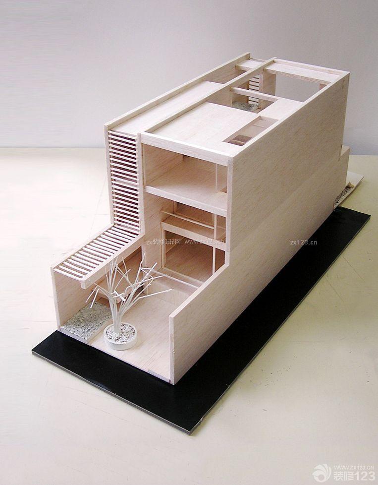 农村小型跃层楼房别墅设计图