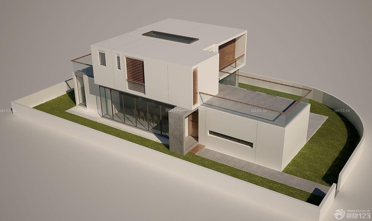 现代农村小型别墅外观设计图欣赏