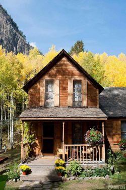 农村带花园木屋房屋设计图展示