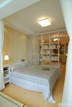 白色简约50平米单身公寓装修效果图