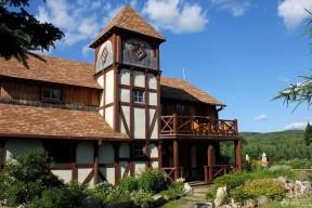 農村小型別墅設計圖 木屋別墅建造