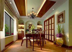 豪宅別墅餐廳裝潢設計圖片