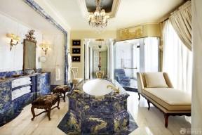 別墅衛生間裝修效果圖 浴缸裝修效果圖片