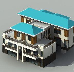 豪華別墅家庭裝潢設計圖-每日推薦