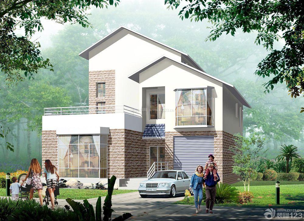 农村二层别墅设计图片大全外景