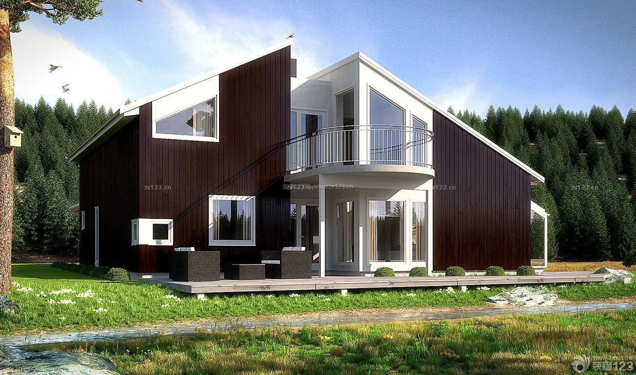 农村家庭别墅造型设计图片