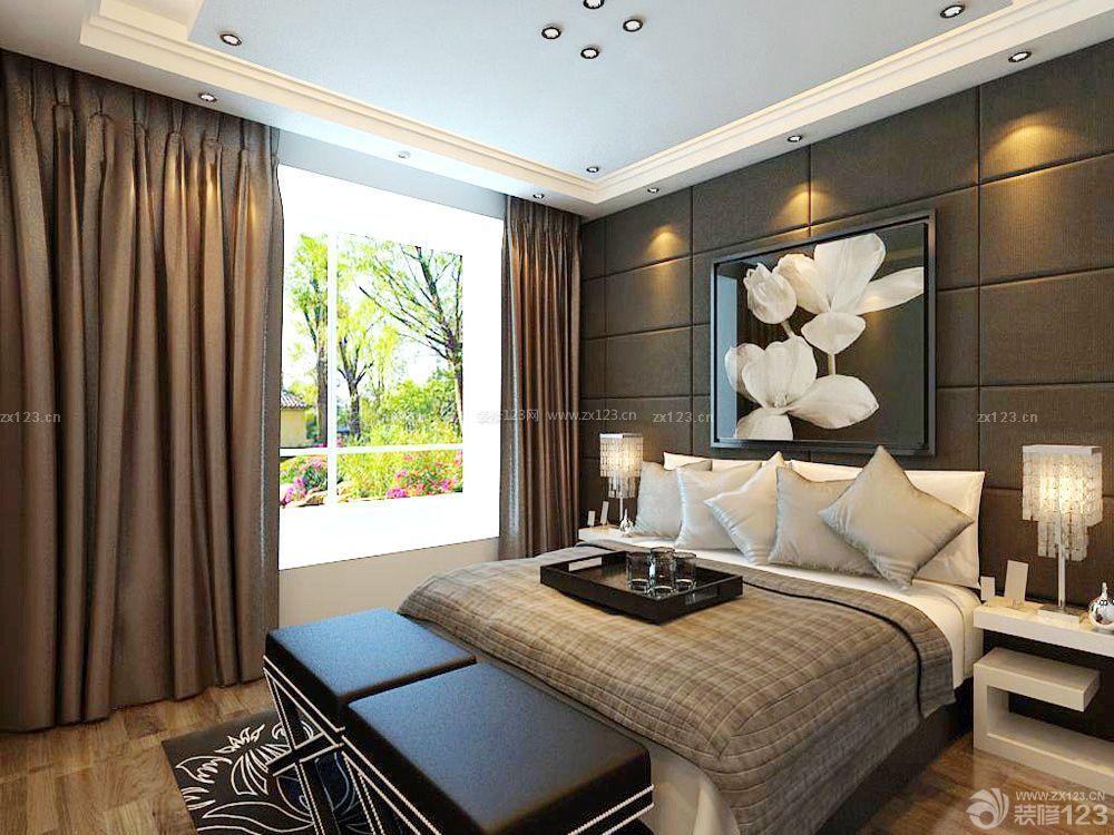 2015 港式床头魔块背景墙装修效果图片