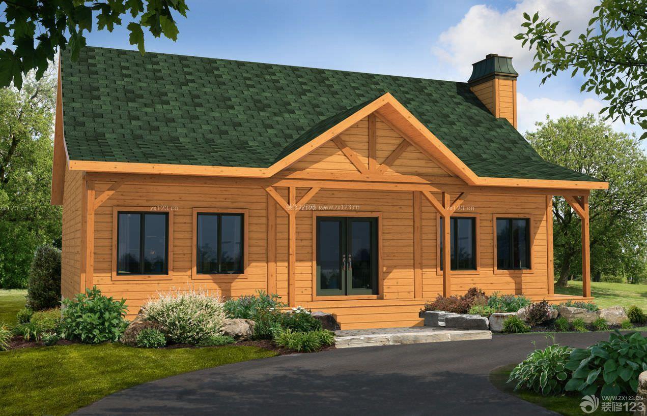 图纸二层木结构小别墅农村翠湖珠海香山别墅图片