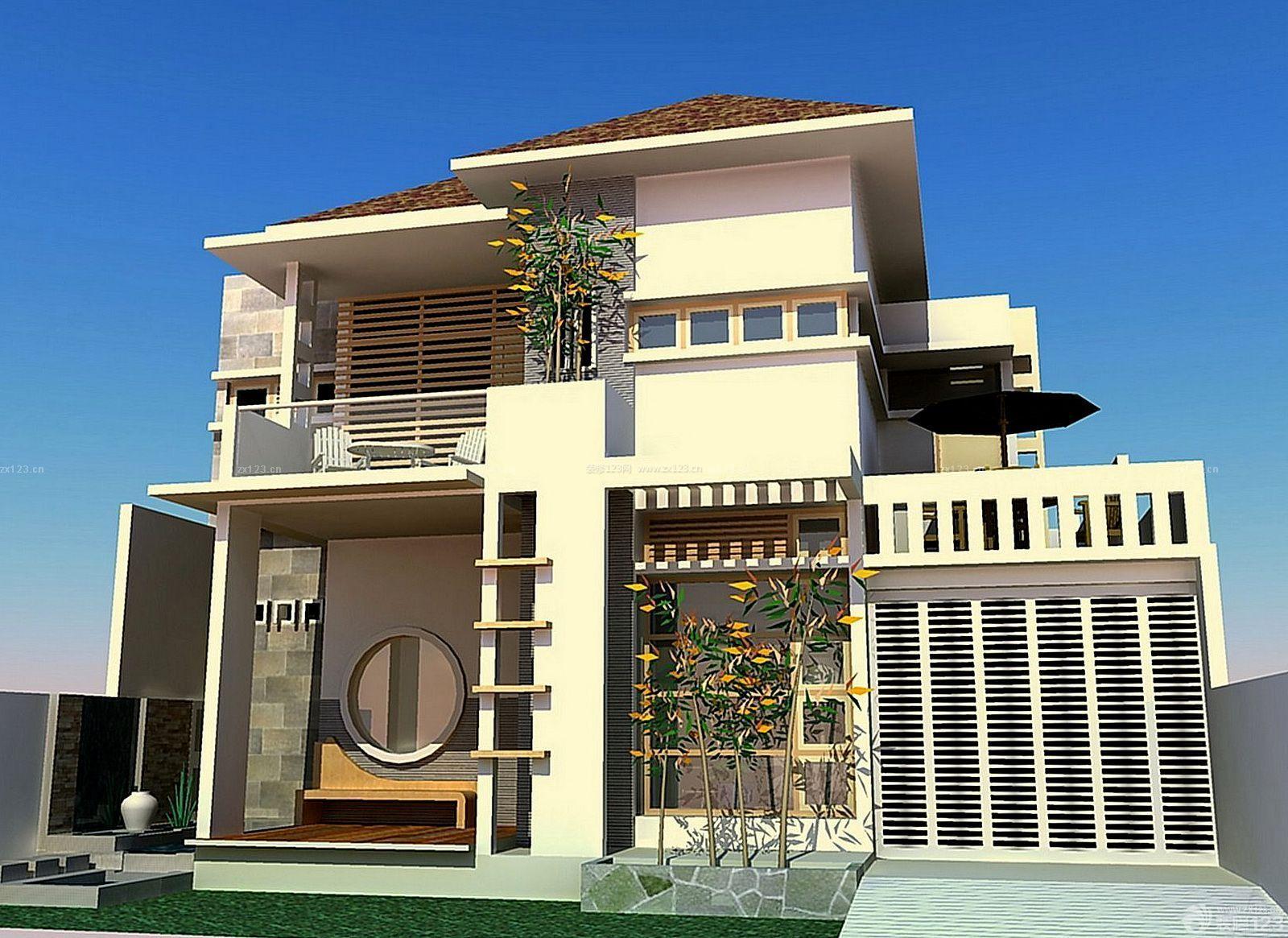 一层小别墅室内平面设计图展示