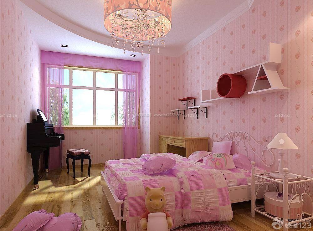 现代风格家装儿童房子装修设计图片大全
