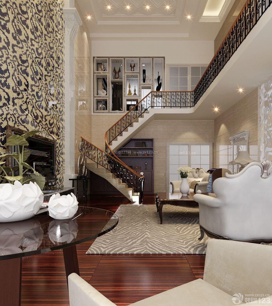 80平复式楼房子装修设计图片大全图片