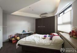 北歐家居設計兒童臥室床頭背景墻