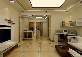 入門玄關鞋柜裝修效果圖 客廳隔斷柜