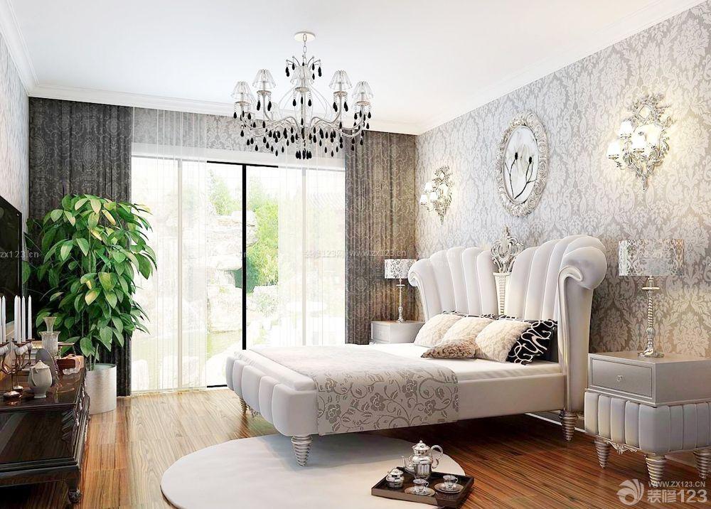 70房子双人床装修设计图片大全
