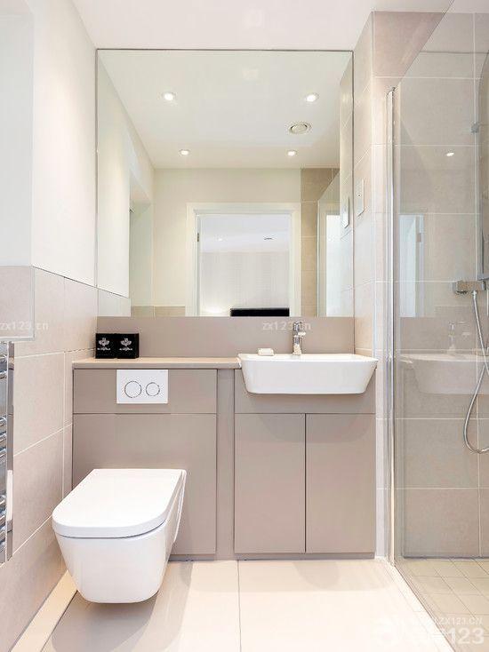 小户型住宅卫生间装修效果图大全2015图片