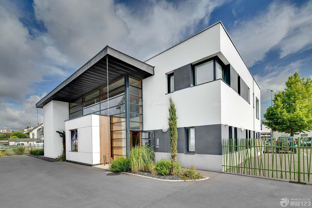 乡村独栋别墅建筑造型设计效果图