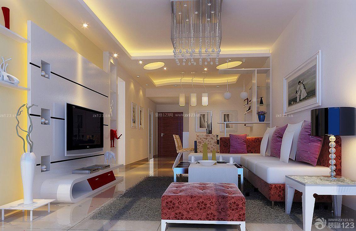 最新2015年房子转角沙发装修设计图片大全