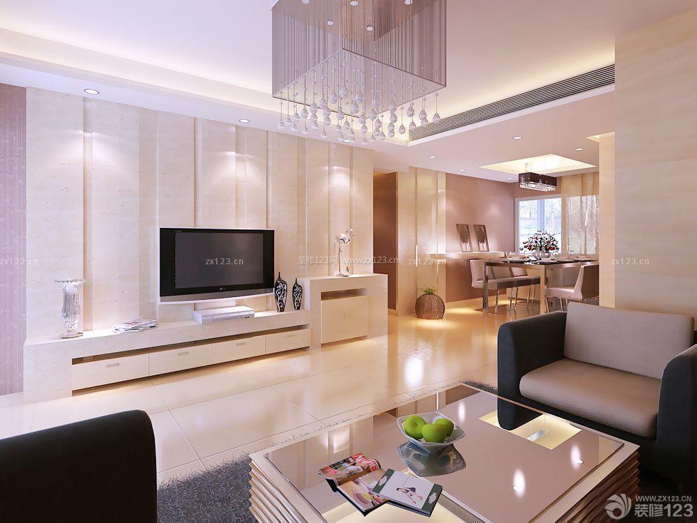 70房子家庭客厅电视墙装修设计图片大全