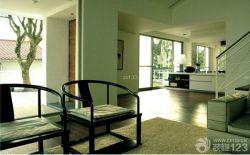 簡約公寓裝修風格木地板效果圖
