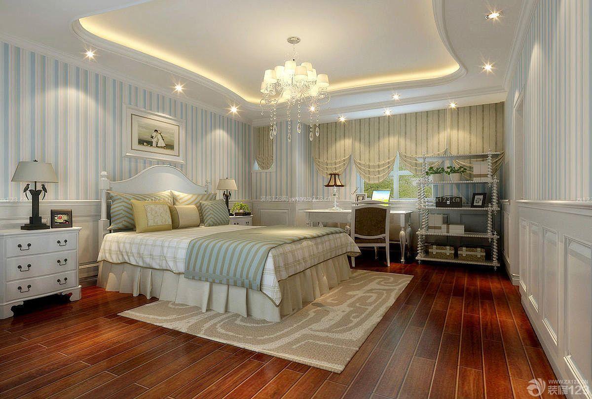 农村别墅室内主卧室设计装修效果图片