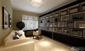 整體書柜 家庭裝修書房