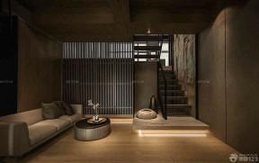 農村別墅裝修效果圖 室內樓梯圖片