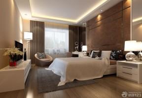 三室兩廳房子裝修效果圖 咖啡色墻面裝修效果圖片