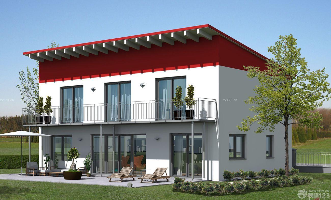 现代中式别墅外观设计展示