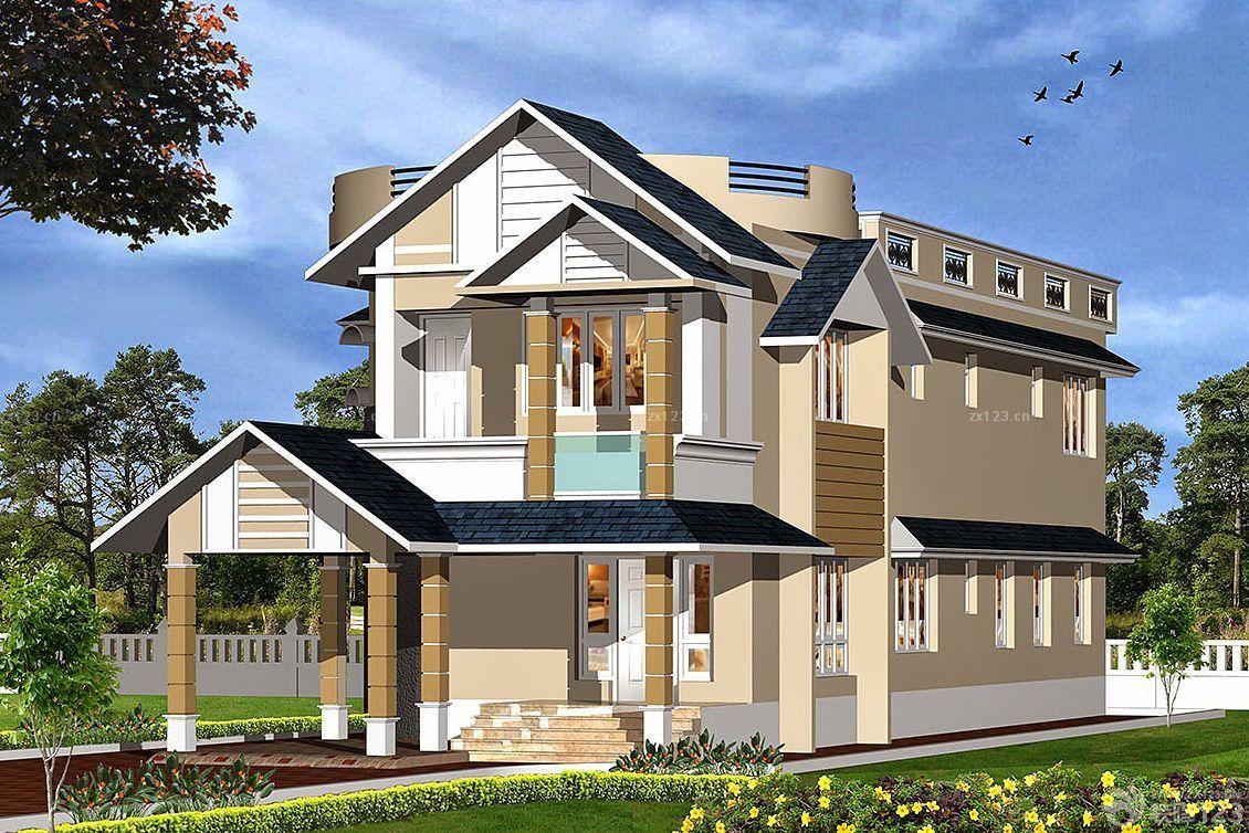 房子外观图片大全农村 农村房子设计图片大全 农村房子图片大全三层