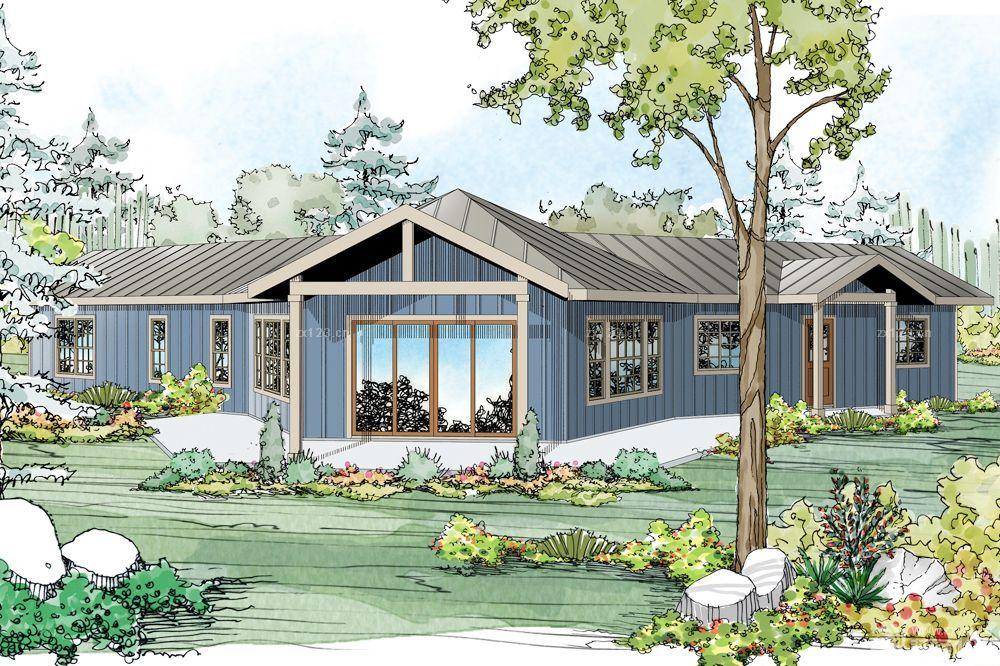 2015农村一层别墅设计图纸大全
