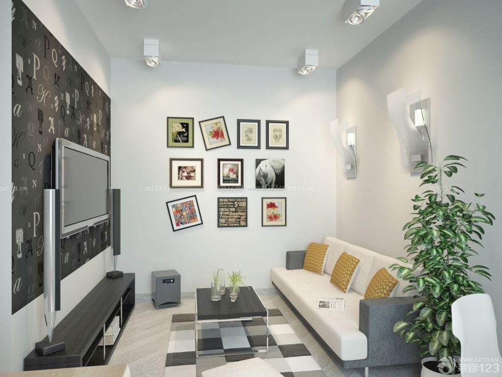 创意小户型客厅装修实景图图片