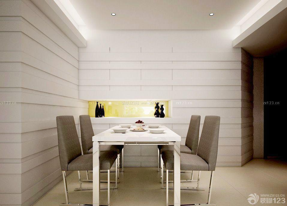 联体别墅餐厅墙面设计装修效果图片图片