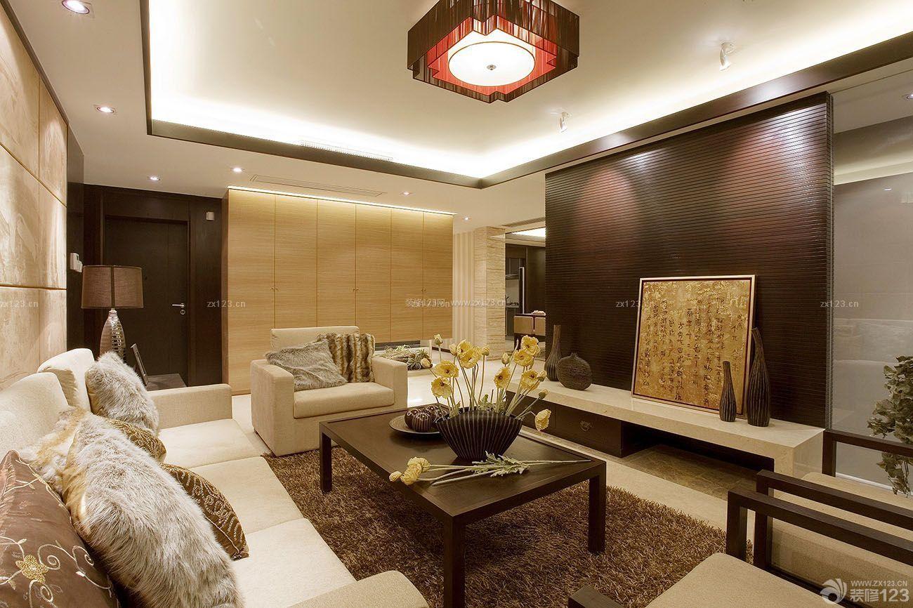 中式房子客厅灯具装修设计图片大全
