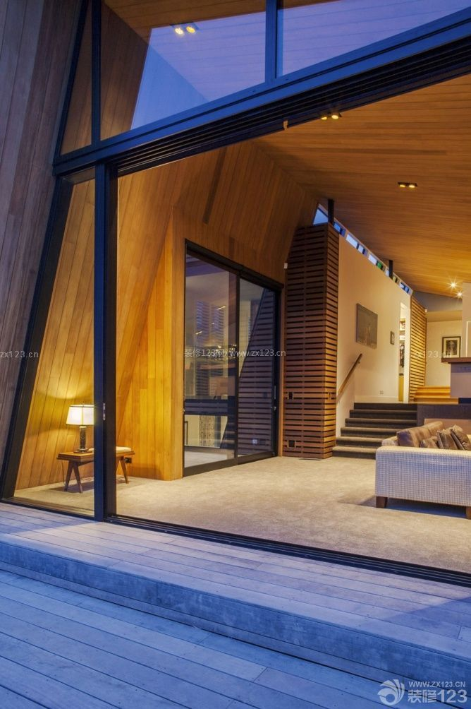 现代大全别墅装修效果图别墅一时尚上海套图片