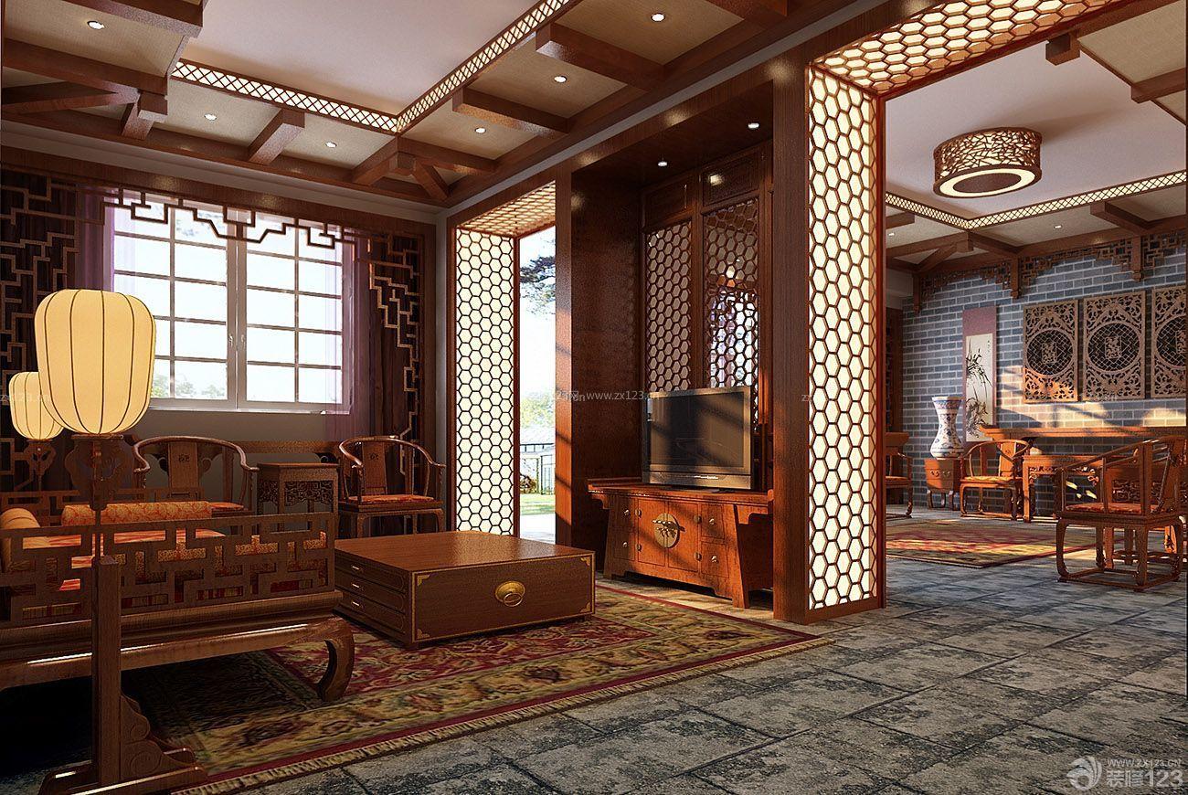 家装效果图 中式 最新中式新古典风格房子装修设计图片大全 提供者