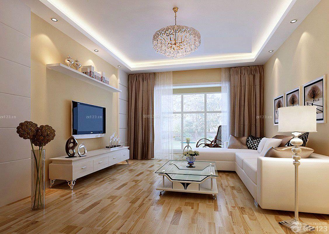 交换空间小户型家居装修设计样板间_装修123效果图