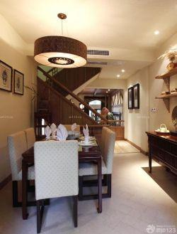 餐廳吊燈裝修效果圖三室兩廳中式