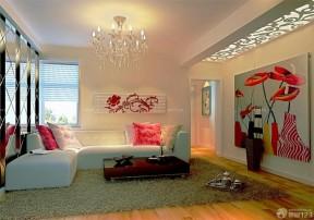 客廳裝飾圖片大全 裝飾畫裝修效果圖片