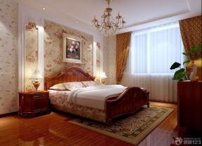 房子装修设计图片大全120平方 双人床装修效果图片