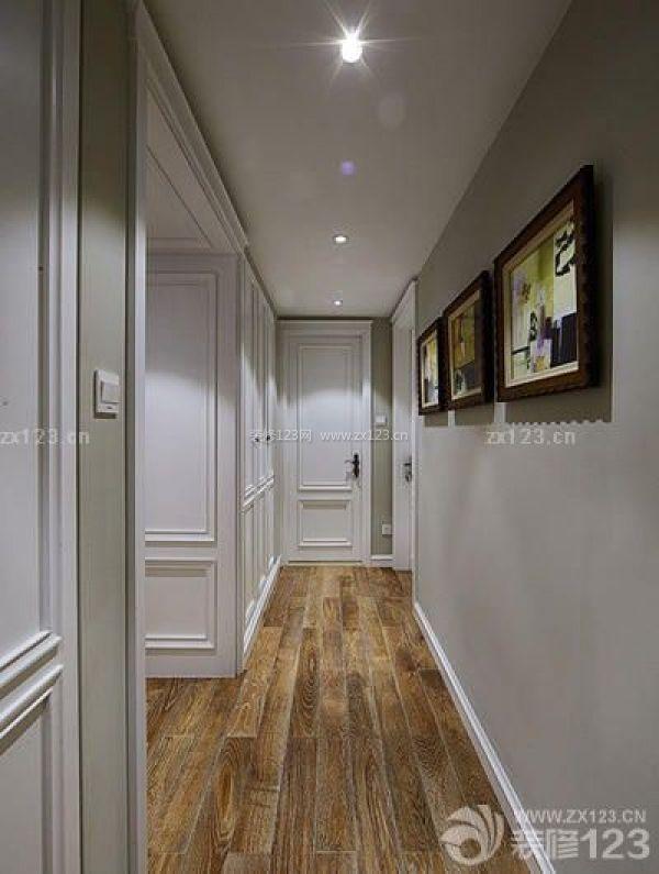 哈尔滨140平三室两厅装修设计 简约美式风格
